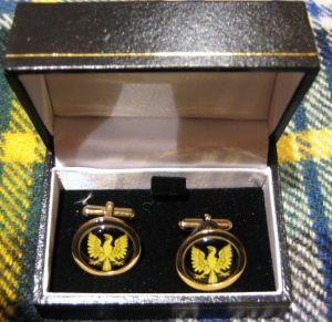 Eagle Pipers Cuff Links