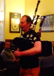 Roddy playing The Groat